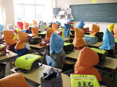 землетрясение в японии детский сад